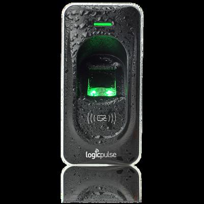 Leitor de Controlo de Acessos IP65 biométrico e cartão proximidade