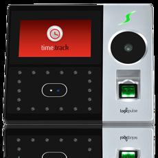 Terminal de Acessos e/ou Assiduidade com reconhecimento facial, palma, impressão digital e RFID - Prata