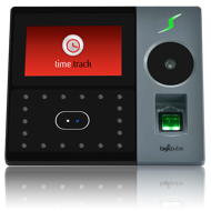 Terminal de Acessos e/ou Assiduidade com reconhecimento facial, palma, impressão digital e RFID - Cinzento