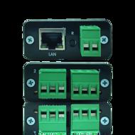 Controladora de acesso OnLine TCP-IP de 2 relés