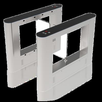 Torniquete de acessos / Barreira de Acessos com porta em vidro TL50