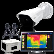 Câmara para medição de temperatura, Sistema de deteção corporal, Temperatura Corporal Online, Análise de Febre, Módulo access.track - medição de temperatura corporal, controlo de acessos com medição de febre