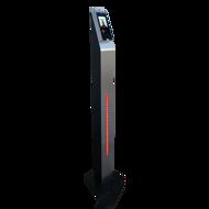 Leitor de acessos com medição corporal com suporte / torre de balcão / secretária / torre pedestal, Terminal de acessos com medição de temperatura corporal, Leitor de controlo de acessos palma, leitor de acessos com verificação facial palma e impressão digital, Sistema de controlo de acessos com deteção temperatura corporal