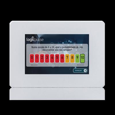 Quiosque para Inquérito de Satisfação digital para montagem na parede, Dispositivo de Satisfação do Cliente, Inquérito de Avaliação de Satisfação, Questionário de satisfação do cliente