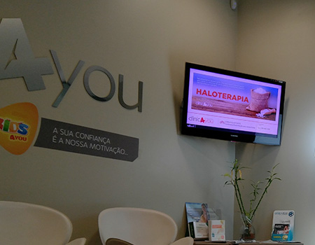 Corporate TV and digital signage for Clinics, Portugal, Angola, Mozambique