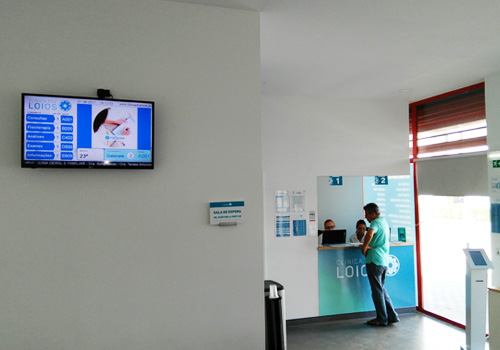 Multimedia Kiosk for Clinic, Clinical Waiting Queue Management, Portugal, Angola, Mozambique