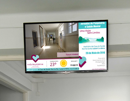 Coporporativa TV and digital signage for Institutions, Portugal, Angola, Mozambique