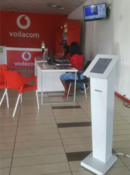 Management of queues for Communication Operator Vodacom, Portugal, Angola, Mozambique